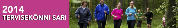 Liikumisaasta eesmärke aitavad ellu viia Tervisejooksu ja Tervisekõnni sarjad