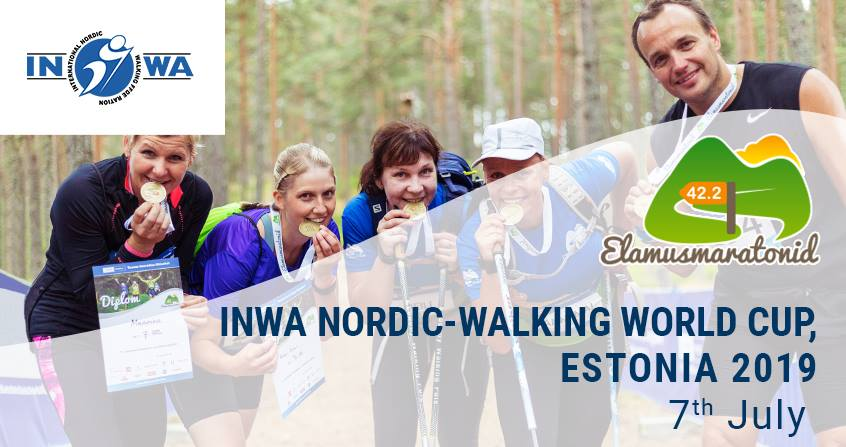 INWA Nordic-Walking World Cup, Estonia 2019