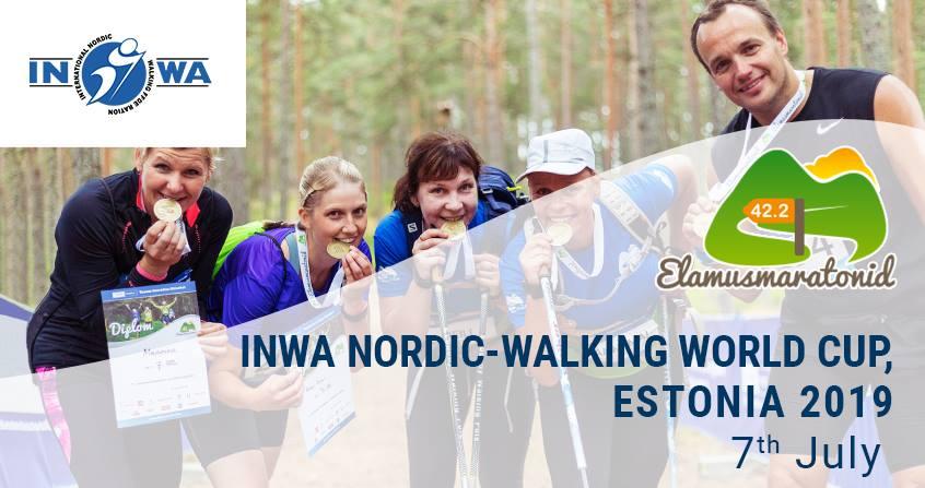 INWA Nordic-Walking World Cup, Estonia 2019